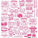kalka do scrapbookingu-Sweet Routine-Sweet Sayings