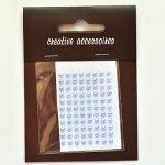 samoprzylepne perełki - 3mm błękitne