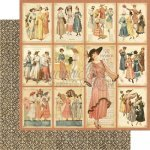 papier A Ladies' Diary - Fashion Plates