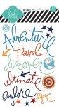 naklejki Heidi Swapp napisy - Adventure