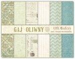zestaw papierów dwustronnych UHK - Gaj Oliwny